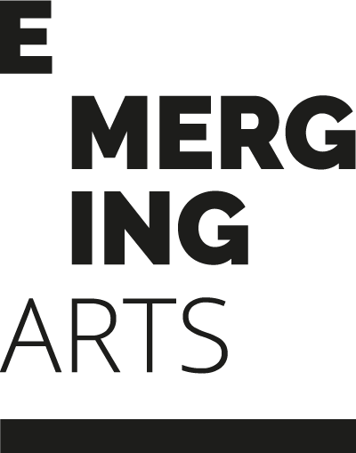 logo emerging arts